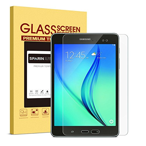 SPARIN-Galaxy-Tab-A-80-Screen-Protector-Tempered-Glass---Anti-Scratch-9H-Hardness-HD-Clear-Screen-Protector-for-Samsung-Galaxy-Tab-A-80-SM-T350