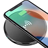 Wireless Charger for iPhone X/8/8 Plus, Wireless Charging Pad for Galaxy S9 /Note 8/S8, 5W Standard Qi-Certified