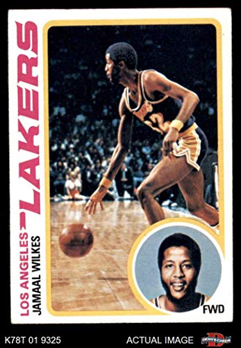 32306d650a1 Amazon.com: 1978 Topps # 3 Jamaal Wilkes Los Angeles Lakers (Basketball  Card) Dean's Cards 4 - VG/EX Lakers: Collectibles & Fine Art