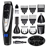 Migicshow Electric Beard Trimmer for men -12 in 1 Multi-functional Grooming Kit