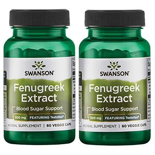 Swanson Fenugreek Extract Featuring Testofen product image