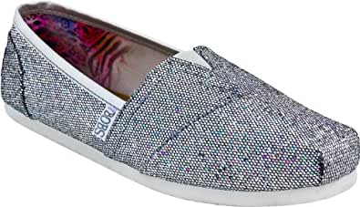Skechers Women's Pewter Bobs Earth Mama 11 B(M) US