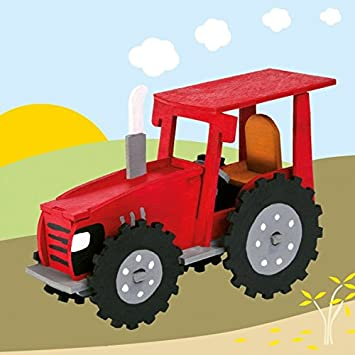 Matches21 Traktor Holz Laubsägevorlage Din A4 Holzvorlage Für Kinder