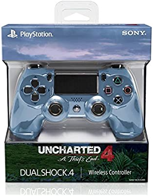Amazon Com Sony Dualshock 4 Limited Edition Uncharted 4 Wireless