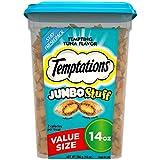 Temptations Jumbo Stuff Cat Treats - Tempting Tuna Flavor - 14 oz Tub