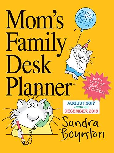 Mom's Family Desk Planner Calendar 2018 PDF