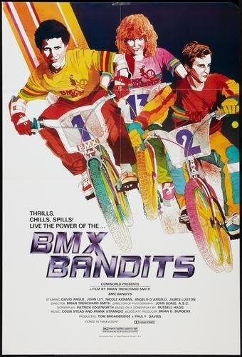 Bmx Bandits Poster #01 Nicole Kidman 24x36