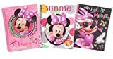 Licensed Character Spiral Notebook 3 pc Set (Minnie Mouse 1)