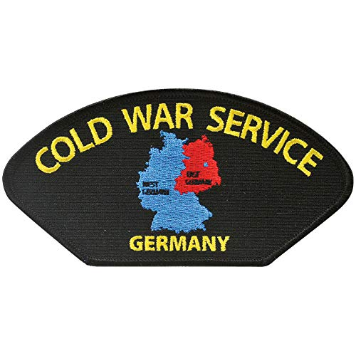 Medals of America Cold War Service German Hat Patch One Size ()