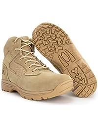 "6"" Coolmax Lining Ryno Gear Tactical Combat Boots (Beige)"