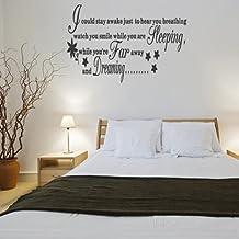 BestGrew® Aerosmith Lyrics WALL STICKER QUOTE ART Vinyl Kitchen Bedroom Living Decal Home