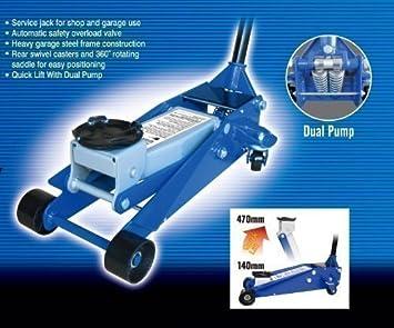 Liftmaster - Gato Hidráulico Profesional de 3 Toneladas: Amazon.es: Coche y moto