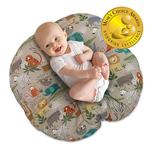 Great Features Of Boppy Original Newborn Lounger, Woodtone Jungle