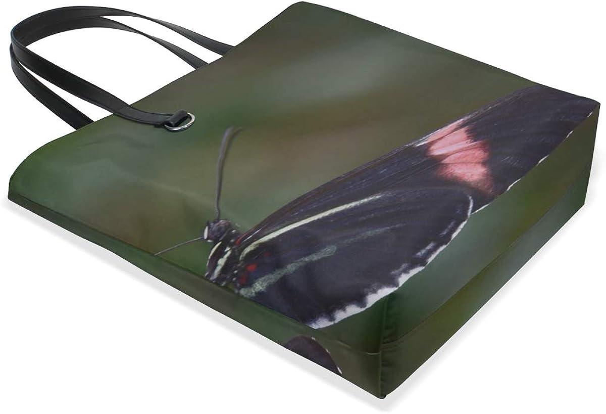 Butterfly Flower Flying Wings Patterns Tote Bag Purse Handbag For Women Girls