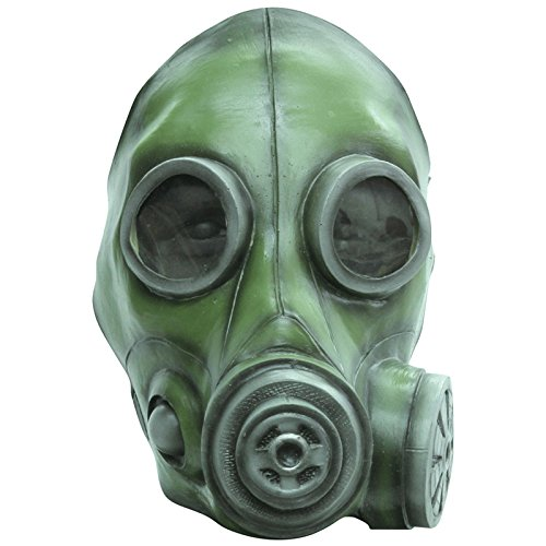 Green Day Gas Mask (Ghoulish Gas Mask Costume)