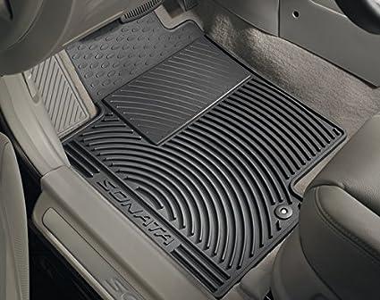 Weather Floor Mats >> Amazon Com Genuine 2017 Sonata All Weather Floormats Automotive