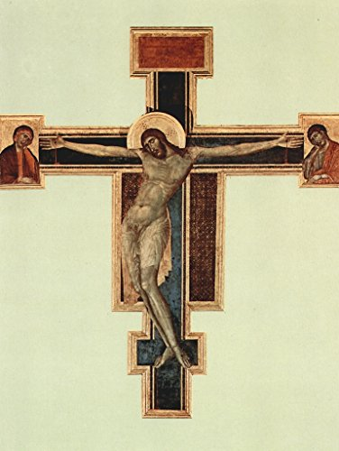 Lais Jigsaw Cimabue - Crucifixion from Santa Croce in Florence, Condition Before 1966 100 Pieces