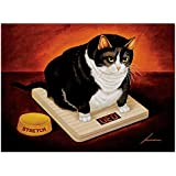 Amazon Com Fat Cat Coffee Co Ryan Fowler Vintage Ads Cats Print