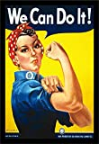 Rosie the Riveter is a cultural icon of the United States, representing the six million women who worked in manufacturing plants during World War II. This 'character' is now considered a feminist icon in the US. Rosie and her slogan were feat...