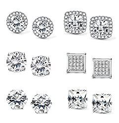 Women's Cubic Zirconia Stud Earrings