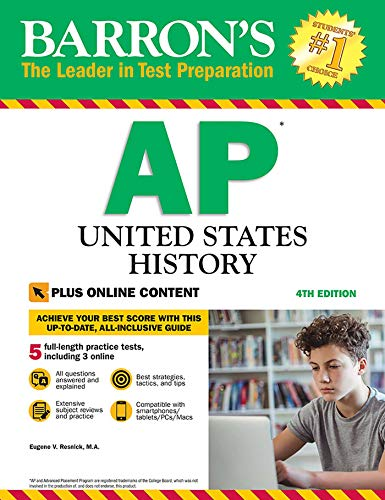 Pdf Teen Barron's AP United States History with Online Tests