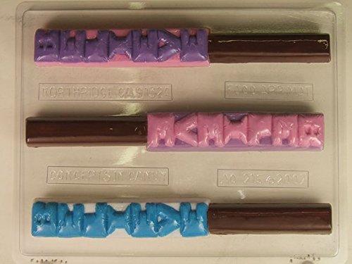 Pretzel Rod Chocolate Mold -