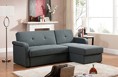Baxton Studio Leicestershire Sectional Sofa