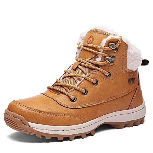 Amarillo Nieve 05 Forro Libre Botas Aire Invierno Fur Botines Trekking Hombre Zapatos Boots 7O6txyP
