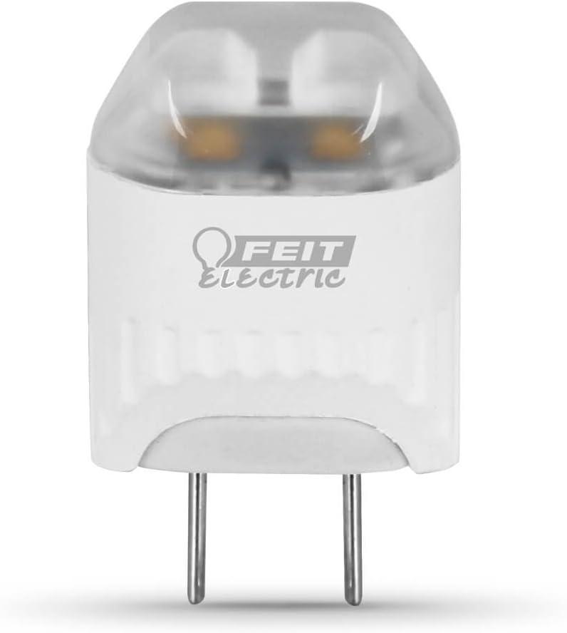 Feit Electric LED Light Bulb, G8 Base, 2.5W (20W Equivalent) 3000K 120 Lumens')