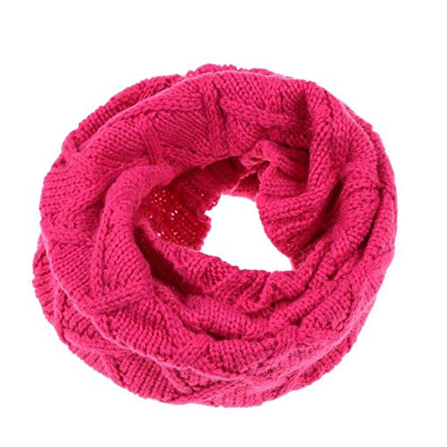 YoungG-3D Newest Kids Girls Winter Decor Knitted Scarf