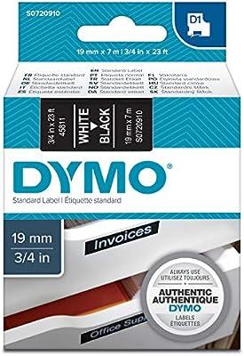 Amazon.com: DYMO D1 Standard etiquetas autoadhesivas para ...