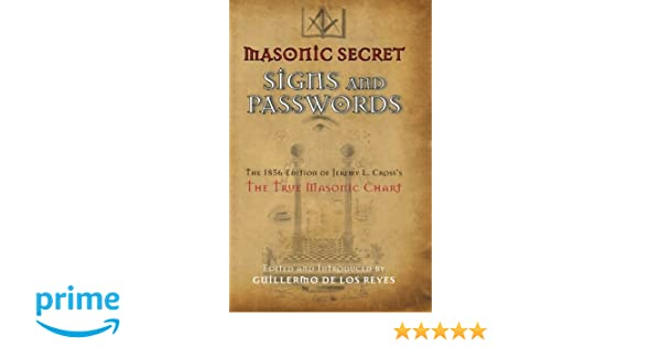 Masonic Secret Signs and Passwords: The 1856 Edition of
