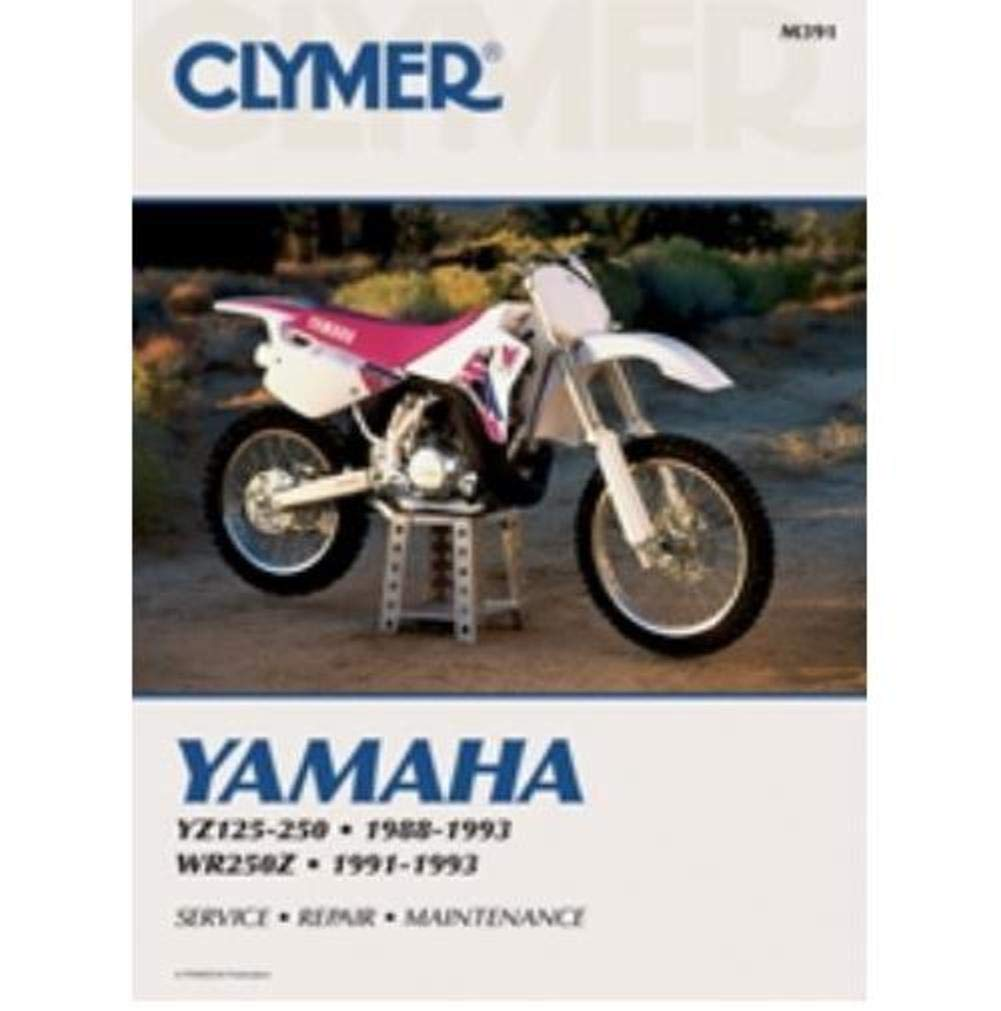 Amazon.com: Clymer 88-93 Yamaha YZ250 Service Manual: Automotive on