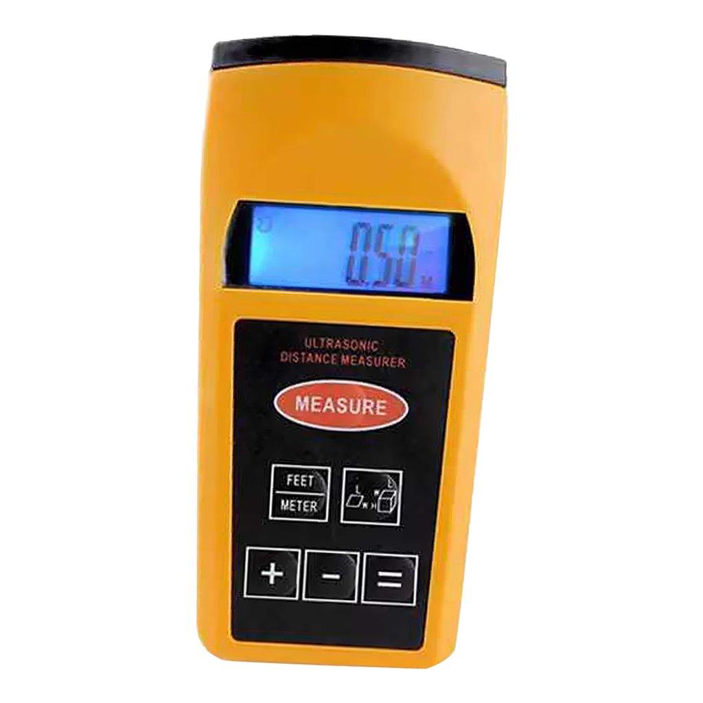 Baoblaze Digital LCD Ultrasonic Distance Meter Range Finder Measure Diastimeter 183eb7ea0898e5fd6a325b4239ee6bed