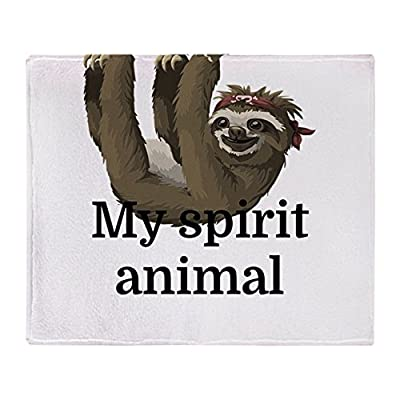 Cafepress My Spirit Animal Soft Fleece Throw Blanket, 50&Quot;X60&Quot; Stadium Blanket - 16714930556893C