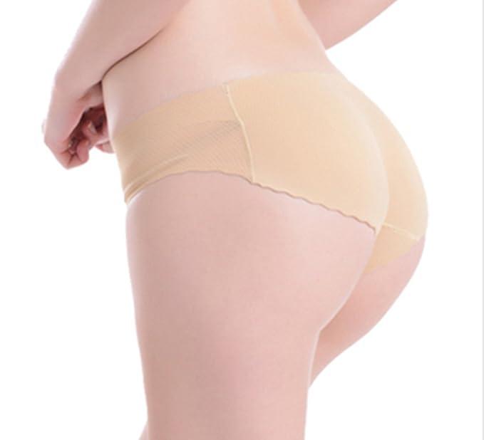 Sannysis® Ropa interior sin costuras acolchadas; Bragas extremo de la caderala ropa interior de