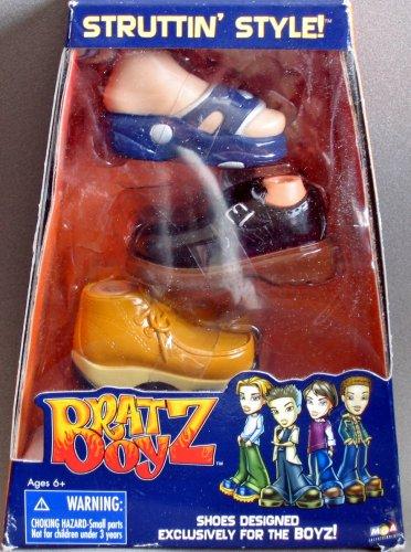 Bratz Boy Struttin' Style 3 Pairs of Shoes (Boy Bratz Dolls)