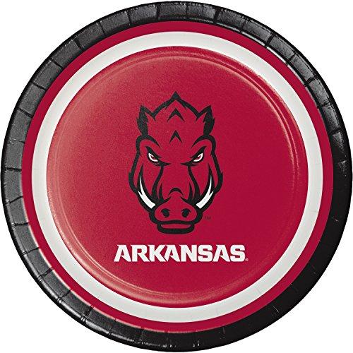 Arkansas Paper - University of Arkansas Dessert Plates, 24 ct