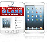 Apple iPad Mini 4 Screen Protector - Tempered Glass - Package Includes Microfiber Cleaning Cloth, Tempered Glass Screen Protector - by TruShield