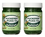 vienna hot dog relish - Puckered Pickle Relish, Sweet Green, 12.0 Ounce (Pack of 2)