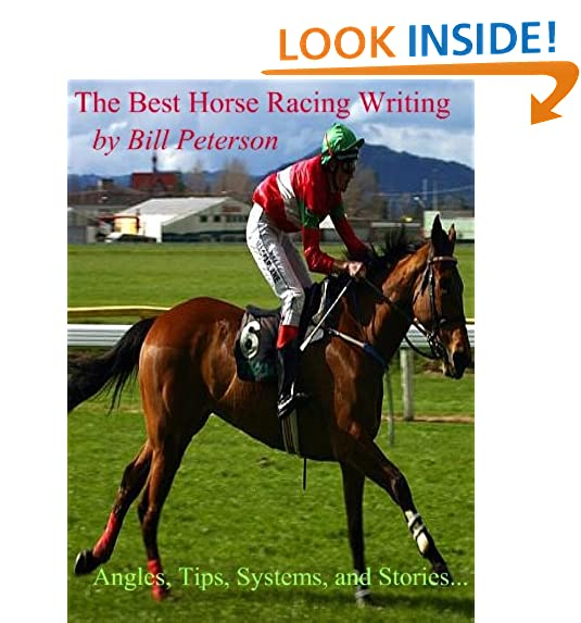 Handicapping horse racing amazon the best horse racing writing of bill peterson publicscrutiny Gallery