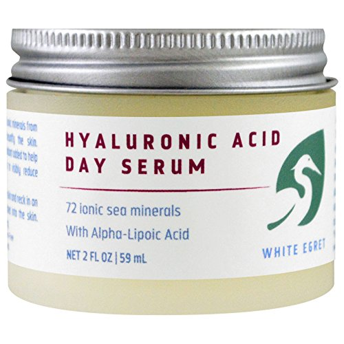 White Egret Hyaluronic Acid Day Serum, 2 Fluid Ounce - Hyaluronic Acid Day Cream