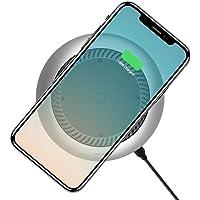 Baseus CCALL-XU0S Whirwind Masaüstü Fanlı Kablosuz Şarj Cihazı, Kahverengi