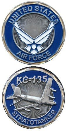 US Air Force KC-135 Stratotanker Challenge Coin Air Force Kc 135