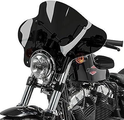 Pare-Brise Batwing pour Suzuki Marauder VZ 800 fum/é Noir