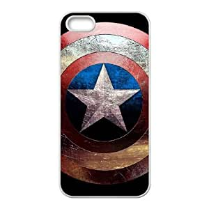 iPhone 5 5s Cell Phone Case White Captain America MFT Cool Phone Cases