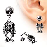 Search : Skeleton Dangle Earring 316L Surgical Steel