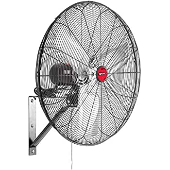 Amazon.com: Dayton 1RWB4 Air Circulator, 30 In, Wall Mount ... on