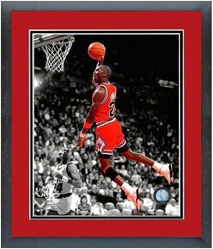 Michael Jordan Chicago Bulls NBA foto (tamaño: 12.5 \