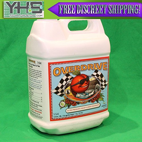 Advanced Nutrients Overdrive 10 Liter - bloom 10L 2.5 gallons flower booster --P#EWT43 65234R3FA88701 by Lisongin